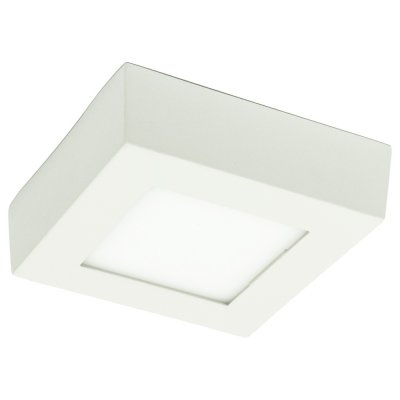 Светильник Arte lamp A3608PL-1WH AngoloКарданные<br><br><br>Тип лампы: LED<br>Ширина, мм: 115<br>MAX мощность ламп, Вт: 8<br>Длина, мм: 115<br>Высота, мм: 35