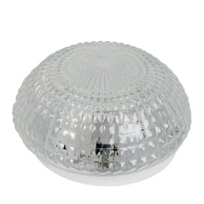 Потолочный светильник Arte lamp A3821PL-1SS CrystalДля ванной<br><br><br>S освещ. до, м2: 3<br>Тип лампы: накаливания / энергосбережения / LED-светодиодная<br>Тип цоколя: E27<br>Цвет арматуры: серый<br>Количество ламп: 1<br>Диаметр, мм мм: 200<br>Высота, мм: 110<br>Оттенок (цвет): Прозрачный<br>MAX мощность ламп, Вт: 60