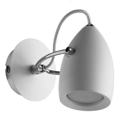 Светильник настенный бра Arte lamp A4004AP-1WH AtlantisОдиночные<br>Светильники-споты – это оригинальные изделия с современным дизайном. Они позволяют не ограничивать свою фантазию при выборе освещения для интерьера. Такие модели обеспечивают достаточно качественный свет. Благодаря компактным размерам Вы можете использовать несколько спотов для одного помещения.  Интернет-магазин «Светодом» предлагает необычный светильник-спот ARTE Lamp A4004AP-1WH по привлекательной цене. Эта модель станет отличным дополнением к люстре, выполненной в том же стиле. Перед оформлением заказа изучите характеристики изделия.  Купить светильник-спот ARTE Lamp A4004AP-1WH в нашем онлайн-магазине Вы можете либо с помощью формы на сайте, либо по указанным выше телефонам. Обратите внимание, что у нас склады не только в Москве и Екатеринбурге, но и других городах России.<br><br>Тип цоколя: GU10<br>Количество ламп: 1<br>MAX мощность ламп, Вт: 50<br>Размеры: H17xW13xL14<br>Цвет арматуры: белый