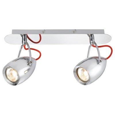 Светильник Arte lamp A4005AP-2CC AtlantisДвойные<br>Светильники-споты – это оригинальные изделия с современным дизайном. Они позволяют не ограничивать свою фантазию при выборе освещения для интерьера. Такие модели обеспечивают достаточно качественный свет. Благодаря компактным размерам Вы можете использовать несколько спотов для одного помещения.  Интернет-магазин «Светодом» предлагает необычный светильник-спот ARTE Lamp A4005AP-2CC по привлекательной цене. Эта модель станет отличным дополнением к люстре, выполненной в том же стиле. Перед оформлением заказа изучите характеристики изделия.  Купить светильник-спот ARTE Lamp A4005AP-2CC в нашем онлайн-магазине Вы можете либо с помощью формы на сайте, либо по указанным выше телефонам. Обратите внимание, что мы предлагаем доставку не только по Москве и Екатеринбургу, но и всем остальным российским городам.<br><br>Тип товара: Светильник<br>Тип лампы: галогенная/LED<br>Тип цоколя: GU10<br>Количество ламп: 2<br>Ширина, мм: 90<br>MAX мощность ламп, Вт: 50<br>Длина, мм: 370<br>Высота, мм: 170<br>Цвет арматуры: серебристый