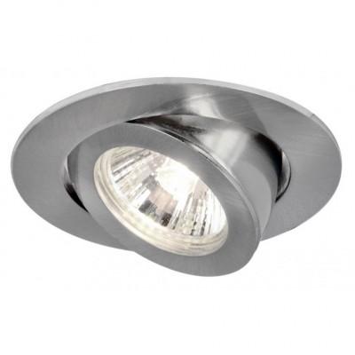 Светильник потолочный Arte lamp A4009PL-1SS ACCENTOКруглые<br>Встраиваемые светильники – популярное осветительное оборудование, которое можно использовать в качестве основного источника или в дополнение к люстре. Они позволяют создать нужную атмосферу атмосферу и привнести в интерьер уют и комфорт.   Интернет-магазин «Светодом» предлагает стильный встраиваемый светильник ARTE Lamp A4009PL-1SS. Данная модель достаточно универсальна, поэтому подойдет практически под любой интерьер. Перед покупкой не забудьте ознакомиться с техническими параметрами, чтобы узнать тип цоколя, площадь освещения и другие важные характеристики.   Приобрести встраиваемый светильник ARTE Lamp A4009PL-1SS в нашем онлайн-магазине Вы можете либо с помощью «Корзины», либо по контактным номерам. Мы развозим заказы по Москве, Екатеринбургу и остальным российским городам.<br><br>Тип цоколя: gu5.3<br>Количество ламп: 1<br>MAX мощность ламп, Вт: 50<br>Размеры: H4xW10,3xL10,3<br>Цвет арматуры: серебристый