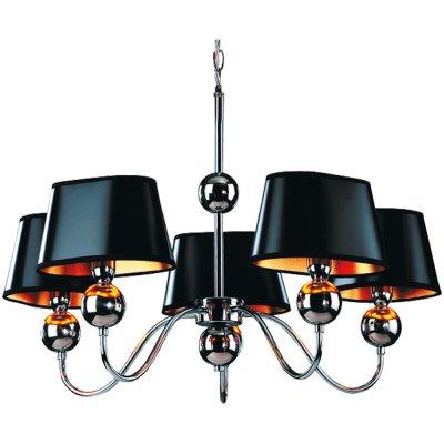 Люстра черная Arte Lamp A4011LM-5CC TurandotПодвесные<br>Компания «Светодом» предлагает широкий ассортимент люстр от известных производителей. Представленные в нашем каталоге товары выполнены из современных материалов и обладают отличным качеством. Благодаря широкому ассортименту Вы сможете найти у нас люстру под любой интерьер. Мы предлагаем как классические варианты, так и современные модели, отличающиеся лаконичностью и простотой форм. <br>Стильная люстра Arte lamp A4011LM-5CC станет украшением любого дома. Эта модель от известного производителя не оставит равнодушным ценителей красивых и оригинальных предметов интерьера. Люстра Arte lamp A4011LM-5CC обеспечит равномерное распределение света по всей комнате. При выборе обратите внимание на характеристики, позволяющие приобрести наиболее подходящую модель. <br>Купить понравившуюся люстру по доступной цене Вы можете в интернет-магазине «Светодом».<br><br>Установка на натяжной потолок: Да<br>S освещ. до, м2: 14<br>Крепление: Крюк<br>Тип лампы: накаливания / энергосбережения / LED-светодиодная<br>Тип цоколя: E14<br>Цвет арматуры: серебристый<br>Количество ламп: 5<br>Ширина, мм: 660<br>Диаметр, мм мм: 660<br>Длина цепи/провода, мм: 550<br>Высота, мм: 490<br>MAX мощность ламп, Вт: 40