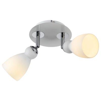 Светильник Arte lamp A4037AP-2WH BulboДвойные<br>Светильники-споты – это оригинальные изделия с современным дизайном. Они позволяют не ограничивать свою фантазию при выборе освещения для интерьера. Такие модели обеспечивают достаточно качественный свет. Благодаря компактным размерам Вы можете использовать несколько спотов для одного помещения.  Интернет-магазин «Светодом» предлагает необычный светильник-спот ARTE Lamp A4037AP-2WH по привлекательной цене. Эта модель станет отличным дополнением к люстре, выполненной в том же стиле. Перед оформлением заказа изучите характеристики изделия.  Купить светильник-спот ARTE Lamp A4037AP-2WH в нашем онлайн-магазине Вы можете либо с помощью формы на сайте, либо по указанным выше телефонам. Обратите внимание, что у нас склады не только в Москве и Екатеринбурге, но и других городах России.<br><br>Тип лампы: галогенная<br>Тип цоколя: G9<br>Количество ламп: 2<br>MAX мощность ламп, Вт: 40<br>Диаметр, мм мм: 240<br>Высота, мм: 150<br>Цвет арматуры: серебристый