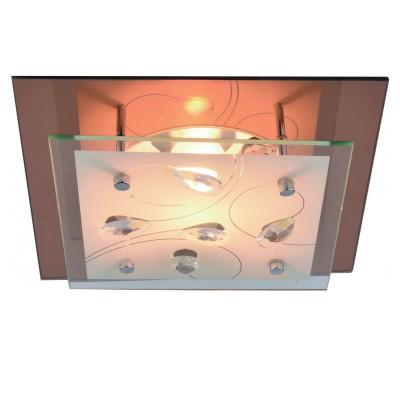 Светильник Arte lamp A4042PL-1CC TIANAКвадратные<br>Настенно-потолочные светильники – это универсальные осветительные варианты, которые подходят для вертикального и горизонтального монтажа. В интернет-магазине «Светодом» Вы можете приобрести подобные модели по выгодной стоимости. В нашем каталоге представлены как бюджетные варианты, так и эксклюзивные изделия от производителей, которые уже давно заслужили доверие дизайнеров и простых покупателей.  Настенно-потолочный светильник ARTELamp A4042PL-1CC станет прекрасным дополнением к основному освещению. Благодаря качественному исполнению и применению современных технологий при производстве эта модель будет радовать Вас своим привлекательным внешним видом долгое время. Приобрести настенно-потолочный светильник ARTELamp A4042PL-1CC можно, находясь в любой точке России. Компания «Светодом» осуществляет доставку заказов не только по Москве и Екатеринбургу, но и в остальные города.<br><br>S освещ. до, м2: 1<br>Тип цоколя: E27<br>Количество ламп: 1<br>MAX мощность ламп, Вт: 60<br>Размеры: H9xW24xL24<br>Цвет арматуры: серебристый