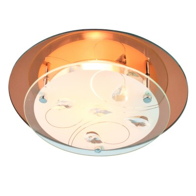 Светильник Arte lamp A4043PL-1CC TIANAКруглые<br>Настенно-потолочные светильники – это универсальные осветительные варианты, которые подходят для вертикального и горизонтального монтажа. В интернет-магазине «Светодом» Вы можете приобрести подобные модели по выгодной стоимости. В нашем каталоге представлены как бюджетные варианты, так и эксклюзивные изделия от производителей, которые уже давно заслужили доверие дизайнеров и простых покупателей.  Настенно-потолочный светильник ARTELamp A4043PL-1CC станет прекрасным дополнением к основному освещению. Благодаря качественному исполнению и применению современных технологий при производстве эта модель будет радовать Вас своим привлекательным внешним видом долгое время. Приобрести настенно-потолочный светильник ARTELamp A4043PL-1CC можно, находясь в любой точке России.<br><br>S освещ. до, м2: 1<br>Тип лампы: Накаливания / энергосбережения / светодиодная<br>Тип цоколя: E27<br>Количество ламп: 1<br>MAX мощность ламп, Вт: 60<br>Размеры: H9xW24xL24<br>Цвет арматуры: серебристый