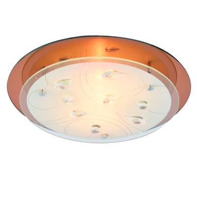 Светильник Arte lamp A4043PL-2CC TIANAКруглые<br>Настенно-потолочные светильники – это универсальные осветительные варианты, которые подходят для вертикального и горизонтального монтажа. В интернет-магазине «Светодом» Вы можете приобрести подобные модели по выгодной стоимости. В нашем каталоге представлены как бюджетные варианты, так и эксклюзивные изделия от производителей, которые уже давно заслужили доверие дизайнеров и простых покупателей.  Настенно-потолочный светильник ARTELamp A4043PL-2CC станет прекрасным дополнением к основному освещению. Благодаря качественному исполнению и применению современных технологий при производстве эта модель будет радовать Вас своим привлекательным внешним видом долгое время. Приобрести настенно-потолочный светильник ARTELamp A4043PL-2CC можно, находясь в любой точке России. Компания «Светодом» осуществляет доставку заказов не только по Москве и Екатеринбургу, но и в остальные города.<br><br>S освещ. до, м2: 6<br>Тип цоколя: Е27<br>Количество ламп: 2<br>MAX мощность ламп, Вт: 60W<br>Размеры: H9xW34xL34<br>Цвет арматуры: серебристый