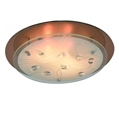 Светильник Arte lamp A4043PL-3CC TIANAКруглые<br>Настенно-потолочные светильники – это универсальные осветительные варианты, которые подходят для вертикального и горизонтального монтажа. В интернет-магазине «Светодом» Вы можете приобрести подобные модели по выгодной стоимости. В нашем каталоге представлены как бюджетные варианты, так и эксклюзивные изделия от производителей, которые уже давно заслужили доверие дизайнеров и простых покупателей.  Настенно-потолочный светильник ARTELamp A4043PL-3CC станет прекрасным дополнением к основному освещению. Благодаря качественному исполнению и применению современных технологий при производстве эта модель будет радовать Вас своим привлекательным внешним видом долгое время. Приобрести настенно-потолочный светильник ARTELamp A4043PL-3CC можно, находясь в любой точке России. Компания «Светодом» осуществляет доставку заказов не только по Москве и Екатеринбургу, но и в остальные города.<br><br>S освещ. до, м2: 9<br>Тип лампы: Накаливания / энергосбережения / светодиодная<br>Тип цоколя: E27<br>Количество ламп: 3<br>MAX мощность ламп, Вт: 60<br>Диаметр, мм мм: 460<br>Размеры: H9xW46xL46<br>Высота, мм: 90<br>Цвет арматуры: серебристый хром