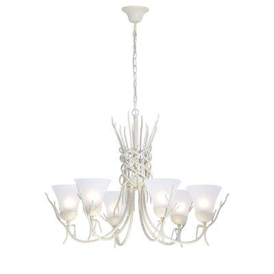 Светильник Arte lamp A4111LM-6WA BrushwoodПодвесные<br>Компания «Светодом» предлагает широкий ассортимент люстр от известных производителей. Представленные в нашем каталоге товары выполнены из современных материалов и обладают отличным качеством. Благодаря широкому ассортименту Вы сможете найти у нас люстру под любой интерьер. Мы предлагаем как классические варианты, так и современные модели, отличающиеся лаконичностью и простотой форм.  Стильная люстра Arte lamp A4111LM-6WA станет украшением любого дома. Эта модель от известного производителя не оставит равнодушным ценителей красивых и оригинальных предметов интерьера. Люстра Arte lamp A4111LM-6WA обеспечит равномерное распределение света по всей комнате. При выборе обратите внимание на характеристики, позволяющие приобрести наиболее подходящую модель. Купить понравившуюся люстру по доступной цене Вы можете в интернет-магазине «Светодом». Мы предлагаем доставку не только по Москве и Екатеринбурге, но и по всей России.<br><br>Установка на натяжной потолок: Да<br>S освещ. до, м2: 18<br>Крепление: Крюк<br>Тип лампы: накал-я - энергосбер-я<br>Тип цоколя: E27<br>Количество ламп: 6<br>MAX мощность ламп, Вт: 60<br>Диаметр, мм мм: 800<br>Высота, мм: 580<br>Цвет арматуры: белый