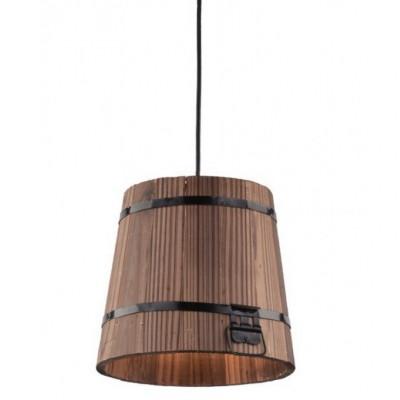 Светильник подвесной Arte lamp A4144SP-1BR BRUNOподвесные люстры кантри стиля<br>Компания «Светодом» предлагает широкий ассортимент люстр от известных производителей. Представленные в нашем каталоге товары выполнены из современных материалов и обладают отличным качеством. Благодаря широкому ассортименту Вы сможете найти у нас люстру под любой интерьер. Мы предлагаем как классические варианты, так и современные модели, отличающиеся лаконичностью и простотой форм. <br>Стильная люстра Arte lamp A4144SP-1BR станет украшением любого дома. Эта модель от известного производителя не оставит равнодушным ценителей красивых и оригинальных предметов интерьера. Люстра Arte lamp A4144SP-1BR обеспечит равномерное распределение света по всей комнате. При выборе обратите внимание на характеристики, позволяющие приобрести наиболее подходящую модель. <br>Купить понравившуюся люстру по доступной цене Вы можете в интернет-магазине «Светодом».<br><br>Установка на натяжной потолок: Да<br>S освещ. до, м2: 2<br>Крепление: Планка<br>Тип лампы: Накаливания / энергосбережения / светодиодная<br>Тип цоколя: E27<br>Цвет арматуры: коричневый<br>Количество ламп: 1<br>Диаметр, мм мм: 220<br>Размеры: H20xW22xL22+шн/цп100<br>Высота, мм: 200 - 1200<br>MAX мощность ламп, Вт: 40