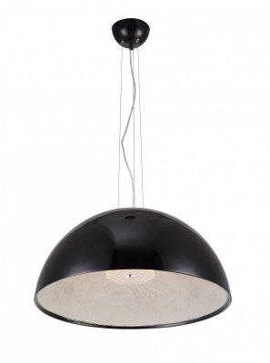 Светильник Arte lamp A4176SP-1BK RomeОдиночные<br><br><br>Тип товара: Светильник подвесной<br>Скидка, %: 7<br>Тип лампы: накаливания / энергосбережения / LED-светодиодная<br>Тип цоколя: E27<br>Количество ламп: 1<br>MAX мощность ламп, Вт: 60<br>Диаметр, мм мм: 600<br>Высота, мм: 600 - 1200