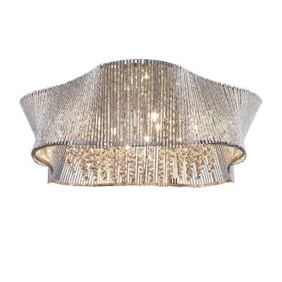A4207PL-9CC Arte lamp СветильникПотолочные<br><br><br>Установка на натяжной потолок: Ограничено<br>S освещ. до, м2: 18<br>Цветовая t, К: 2700K<br>Тип цоколя: G9<br>Цвет арматуры: Серебристый хром<br>Количество ламп: 9<br>Диаметр, мм мм: 500<br>Размеры: ?500*H225<br>Длина, мм: 500<br>Высота, мм: 230<br>MAX мощность ламп, Вт: 40W<br>Общая мощность, Вт: 40W