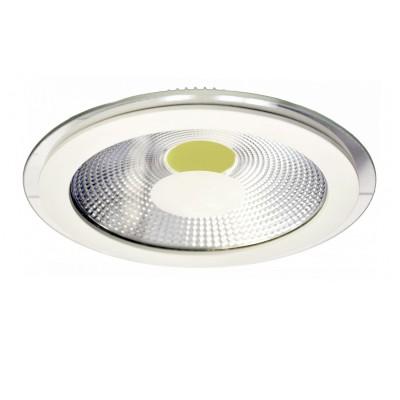 Светильник светодиодный 15Вт Arte lamp A4215PL-1WH RaggioСветодиодные круглые светильники<br>Встраиваемые светильники – популярное осветительное оборудование, которое можно использовать в качестве основного источника или в дополнение к люстре. Они позволяют создать нужную атмосферу атмосферу и привнести в интерьер уют и комфорт. <br> Интернет-магазин «Светодом» предлагает стильный встраиваемый светильник ARTE Lamp A4215PL-1WH. Данная модель достаточно универсальна, поэтому подойдет практически под любой интерьер. Перед покупкой не забудьте ознакомиться с техническими параметрами, чтобы узнать тип цоколя, площадь освещения и другие важные характеристики. <br> Приобрести встраиваемый светильник ARTE Lamp A4215PL-1WH в нашем онлайн-магазине Вы можете либо с помощью «Корзины», либо по контактным номерам. Мы развозим заказы по Москве, Екатеринбургу и остальным российским городам.<br><br>Тип лампы: LED<br>Диаметр, мм мм: 200<br>Диаметр врезного отверстия, мм: 165<br>Высота, мм: 10<br>MAX мощность ламп, Вт: 15