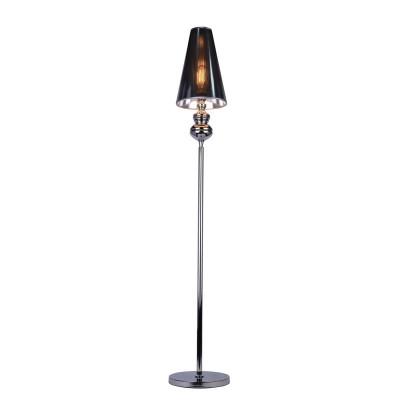 Светильник напольный Arte lamp A4280PN-1CC Anna MariaТоршеры в стиле хай тек<br><br><br>Тип лампы: Накаливания / энергосбережения / светодиодная<br>Тип цоколя: E27<br>Цвет арматуры: Серебристый хром<br>Количество ламп: 1<br>Диаметр, мм мм: 250<br>Размеры: D250*H1680<br>Длина, мм: 250<br>Высота, мм: 1680<br>MAX мощность ламп, Вт: 40W<br>Общая мощность, Вт: 40W