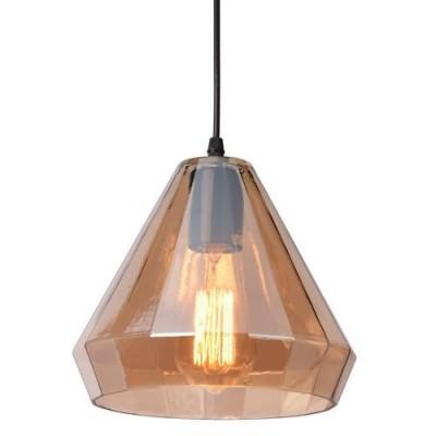 Светильник подвесной Arte lamp A4281SP-1AM Imbutoодиночные подвесные светильники<br><br><br>Крепление: Планка<br>Тип цоколя: E27<br>Цвет арматуры: ЯНТАРНЫЙ<br>Количество ламп: 1<br>Диаметр, мм мм: 220<br>Размеры: D220*H170<br>Длина цепи/провода, мм: 1000<br>Длина, мм: 220<br>Высота, мм: 170<br>MAX мощность ламп, Вт: 40W<br>Общая мощность, Вт: 40W