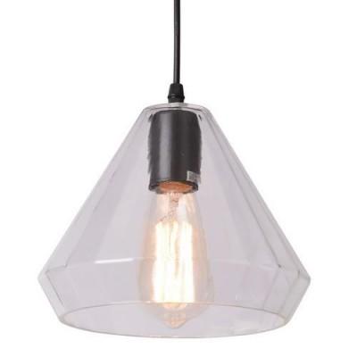 A4281SP-1CL Arte lamp СветильникОдиночные<br><br><br>Крепление: Планка<br>Тип цоколя: E27<br>Цвет арматуры: ПРОЗРАЧНЫЙ<br>Количество ламп: 1<br>Диаметр, мм мм: 220<br>Длина цепи/провода, мм: 1000<br>Размеры: D220*H170<br>Длина, мм: 220<br>Высота, мм: 170<br>MAX мощность ламп, Вт: 40W<br>Общая мощность, Вт: 40W