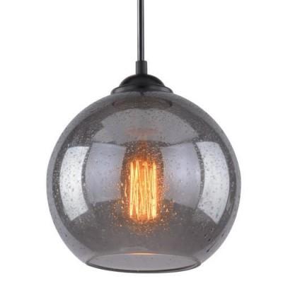 A4285SP-1SM Arte lamp СветильникОдиночные<br><br><br>Крепление: Планка<br>Тип цоколя: E27<br>Цвет арматуры: ДЫМЧАТЫЙ<br>Количество ламп: 1<br>Диаметр, мм мм: 200<br>Длина цепи/провода, мм: 1000<br>Размеры: D200*170<br>Длина, мм: 200<br>Высота, мм: 170<br>MAX мощность ламп, Вт: 40W<br>Общая мощность, Вт: 40W