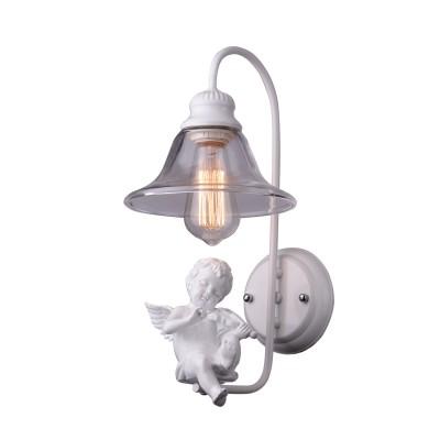 A4288AP-1WH Arte lamp СветильникКлассические<br><br><br>Тип цоколя: E27<br>Цвет арматуры: БЕЛЫЙ<br>Количество ламп: 1<br>Диаметр, мм мм: 160<br>Размеры: D200H450<br>Длина, мм: 200<br>Высота, мм: 400<br>MAX мощность ламп, Вт: 40W<br>Общая мощность, Вт: 40W