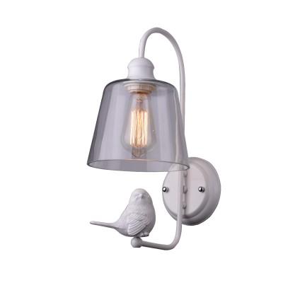 A4289AP-1WH Arte lamp СветильникФлористика<br><br><br>Тип цоколя: E27<br>Цвет арматуры: БЕЛЫЙ<br>Количество ламп: 1<br>Диаметр, мм мм: 180<br>Размеры: D180*145<br>Длина, мм: 210<br>Высота, мм: 400<br>MAX мощность ламп, Вт: 40W<br>Общая мощность, Вт: 40W