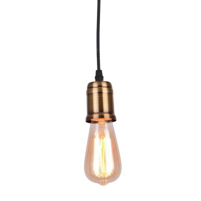 A4290SP-1BK Arte lamp СветильникОдиночные<br><br><br>Крепление: Планка<br>Тип лампы: Накаливания / энергосбережения / светодиодная<br>Тип цоколя: E27<br>Цвет арматуры: ЧЕРНЫЙ<br>Количество ламп: 1<br>Диаметр, мм мм: 120<br>Длина цепи/провода, мм: 1000<br>Размеры: шнур 1,5 м<br>Длина, мм: 120<br>Высота, мм: 180<br>MAX мощность ламп, Вт: 40W<br>Общая мощность, Вт: 40W