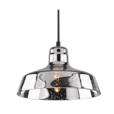 A4297SP-1CC Arte lamp СветильникОдиночные<br><br><br>Крепление: Планка<br>Тип цоколя: E27<br>Количество ламп: 1<br>MAX мощность ламп, Вт: 40W<br>Диаметр, мм мм: 250<br>Длина цепи/провода, мм: 900<br>Размеры: D245*150<br>Длина, мм: 250<br>Высота, мм: 300<br>Цвет арматуры: Серебристый хром<br>Общая мощность, Вт: 40W