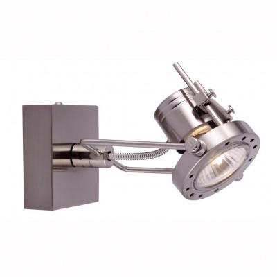 Светильник настенный бра Arte lamp A4300AP-1SS COSTRUTTOREОдиночные<br>Светильники-споты – это оригинальные изделия с современным дизайном. Они позволяют не ограничивать свою фантазию при выборе освещения для интерьера. Такие модели обеспечивают достаточно качественный свет. Благодаря компактным размерам Вы можете использовать несколько спотов для одного помещения. <br>Интернет-магазин «Светодом» предлагает необычный светильник-спот ARTE Lamp A4300AP-1SS по привлекательной цене. Эта модель станет отличным дополнением к люстре, выполненной в том же стиле. Перед оформлением заказа изучите характеристики изделия. <br>Купить светильник-спот ARTE Lamp A4300AP-1SS в нашем онлайн-магазине Вы можете либо с помощью формы на сайте, либо по указанным выше телефонам. Обратите внимание, что у нас склады не только в Москве и Екатеринбурге, но и других городах России.<br><br>Тип лампы: галогенная/LED<br>Тип цоколя: GU10<br>Количество ламп: 1<br>MAX мощность ламп, Вт: 50<br>Размеры: H8xW15xL10<br>Цвет арматуры: серебристый