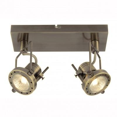 Светильник настенный бра Arte lamp A4300AP-2AB COSTRUTTOREДвойные<br>Светильники-споты – это оригинальные изделия с современным дизайном. Они позволяют не ограничивать свою фантазию при выборе освещения для интерьера. Такие модели обеспечивают достаточно качественный свет. Благодаря компактным размерам Вы можете использовать несколько спотов для одного помещения.  Интернет-магазин «Светодом» предлагает необычный светильник-спот ARTE Lamp A4300AP-2AB по привлекательной цене. Эта модель станет отличным дополнением к люстре, выполненной в том же стиле. Перед оформлением заказа изучите характеристики изделия.  Купить светильник-спот ARTE Lamp A4300AP-2AB в нашем онлайн-магазине Вы можете либо с помощью формы на сайте, либо по указанным выше телефонам. Обратите внимание, что мы предлагаем доставку не только по Москве и Екатеринбургу, но и всем остальным российским городам.<br><br>Тип лампы: галогенная/LED<br>Тип цоколя: GU10<br>Количество ламп: 2<br>MAX мощность ламп, Вт: 50<br>Размеры: H8xW15xL27<br>Цвет арматуры: бронзовый