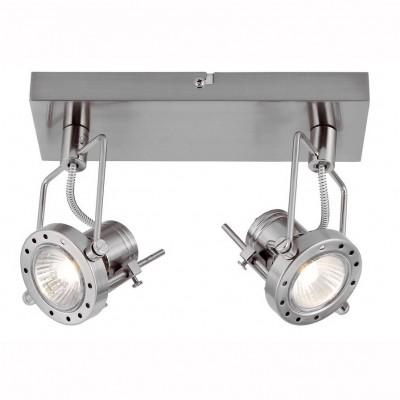 Светильник настенный бра Arte lamp A4300AP-2SS COSTRUTTOREДвойные<br>Светильники-споты – это оригинальные изделия с современным дизайном. Они позволяют не ограничивать свою фантазию при выборе освещения для интерьера. Такие модели обеспечивают достаточно качественный свет. Благодаря компактным размерам Вы можете использовать несколько спотов для одного помещения. <br>Интернет-магазин «Светодом» предлагает необычный светильник-спот ARTE Lamp A4300AP-2SS по привлекательной цене. Эта модель станет отличным дополнением к люстре, выполненной в том же стиле. Перед оформлением заказа изучите характеристики изделия. <br>Купить светильник-спот ARTE Lamp A4300AP-2SS в нашем онлайн-магазине Вы можете либо с помощью формы на сайте, либо по указанным выше телефонам. Обратите внимание, что у нас склады не только в Москве и Екатеринбурге, но и других городах России.<br><br>Тип лампы: галогенная/LED<br>Тип цоколя: GU10<br>Количество ламп: 2<br>MAX мощность ламп, Вт: 50<br>Размеры: H8xW15xL27<br>Цвет арматуры: серебристый