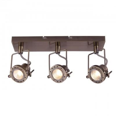 Светильник потолочный Arte lamp A4300PL-3AB COSTRUTTOREТройные<br>Светильники-споты – это оригинальные изделия с современным дизайном. Они позволяют не ограничивать свою фантазию при выборе освещения для интерьера. Такие модели обеспечивают достаточно качественный свет. Благодаря компактным размерам Вы можете использовать несколько спотов для одного помещения. <br>Интернет-магазин «Светодом» предлагает необычный светильник-спот ARTE Lamp A4300PL-3AB по привлекательной цене. Эта модель станет отличным дополнением к люстре, выполненной в том же стиле. Перед оформлением заказа изучите характеристики изделия. <br>Купить светильник-спот ARTE Lamp A4300PL-3AB в нашем онлайн-магазине Вы можете либо с помощью формы на сайте, либо по указанным выше телефонам. Обратите внимание, что у нас склады не только в Москве и Екатеринбурге, но и других городах России.<br><br>S освещ. до, м2: 8<br>Тип лампы: галогенная/LED<br>Тип цоколя: GU10<br>Цвет арматуры: бронзовый<br>Количество ламп: 3<br>Размеры: H8xW15xL40<br>MAX мощность ламп, Вт: 50