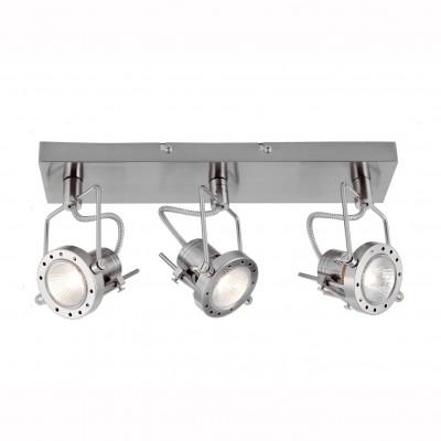 Светильник потолочный Arte lamp A4300PL-3SS COSTRUTTOREТройные<br>Светильники-споты – это оригинальные изделия с современным дизайном. Они позволяют не ограничивать свою фантазию при выборе освещения для интерьера. Такие модели обеспечивают достаточно качественный свет. Благодаря компактным размерам Вы можете использовать несколько спотов для одного помещения. <br>Интернет-магазин «Светодом» предлагает необычный светильник-спот ARTE Lamp A4300PL-3SS по привлекательной цене. Эта модель станет отличным дополнением к люстре, выполненной в том же стиле. Перед оформлением заказа изучите характеристики изделия. <br>Купить светильник-спот ARTE Lamp A4300PL-3SS в нашем онлайн-магазине Вы можете либо с помощью формы на сайте, либо по указанным выше телефонам. Обратите внимание, что у нас склады не только в Москве и Екатеринбурге, но и других городах России.<br><br>S освещ. до, м2: 8<br>Тип лампы: галогенная/LED<br>Тип цоколя: GU10<br>Цвет арматуры: серебристый<br>Количество ламп: 3<br>Размеры: H8xW15xL40<br>MAX мощность ламп, Вт: 50