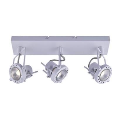 A4300PL-3WH Arte lamp СветильникТройные<br><br><br>Тип цоколя: GU10<br>Количество ламп: 3<br>MAX мощность ламп, Вт: 50W<br>Диаметр, мм мм: 80<br>Длина, мм: 400<br>Высота, мм: 150<br>Цвет арматуры: БЕЛЫЙ<br>Общая мощность, Вт: 50W