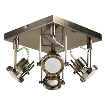 Купить со скидкой Светильник потолочный Arte lamp A4300PL-4AB COSTRUTTORE