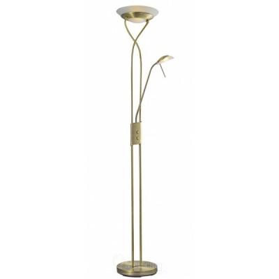 Торшер Arte lamp A4399PN-2AB DUETTOСовременные<br>Торшер – это не просто функциональный предмет интерьера, позволяющий обеспечить дополнительное освещение, но и оригинальный декоративный элемент. Интернет-магазин «Светодом» предлагает стильные модели от известных производителей по доступным ценам. У нас Вы найдете и классические напольные светильники, и современные варианты. <br> Торшер A4399PN-2AB ARTELamp сразу же привлекает внимание благодаря своему необычному дизайну. Модель выполнена из качественных материалов, что обеспечит ее надежную и долговечную работу. Такой напольный светильник можно использовать для интерьера не только гостиной, но и спальни или кабинета. <br> Купить торшер A4399PN-2AB ARTELamp по выгодной стоимости Вы можете с помощью нашего сайта. У нас склады в Москве, Екатеринбурге, Санкт-Петербурге, Новосибирске и другим городам России.<br><br>Тип лампы: галогенная/LED<br>Тип цоколя: G9<br>Цвет арматуры: бронзовый<br>Количество ламп: 1<br>Размеры: H180xW30xL30<br>MAX мощность ламп, Вт: 33