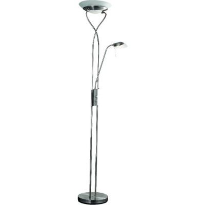 Торшер Arte lamp A4399PN-2SS DUETTOМодерн<br>Торшер – это не просто функциональный предмет интерьера, позволяющий обеспечить дополнительное освещение, но и оригинальный декоративный элемент. Интернет-магазин «Светодом» предлагает стильные модели от известных производителей по доступным ценам. У нас Вы найдете и классические напольные светильники, и современные варианты.   Торшер A4399PN-2SS ARTELamp сразу же привлекает внимание благодаря своему необычному дизайну. Модель выполнена из качественных материалов, что обеспечит ее надежную и долговечную работу. Такой напольный светильник можно использовать для интерьера не только гостиной, но и спальни или кабинета.   Купить торшер A4399PN-2SS ARTELamp по выгодной стоимости Вы можете с помощью нашего сайта. У нас склады в Москве, Екатеринбурге, Санкт-Петербурге, Новосибирске и другим городам России.<br><br>Тип лампы: галогенная/LED<br>Тип цоколя: G9<br>Количество ламп: 1<br>MAX мощность ламп, Вт: 33<br>Размеры: H180xW30xL30<br>Цвет арматуры: серебристый