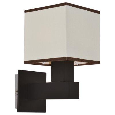 Настенный бра Arte lamp A4402AP-1BK QuadroМодерн<br><br><br>S освещ. до, м2: 3<br>Тип лампы: накаливания / энергосбережения / LED-светодиодная<br>Тип цоколя: E14<br>Количество ламп: 1<br>Ширина, мм: 150<br>MAX мощность ламп, Вт: 40<br>Диаметр, мм мм: 210<br>Высота, мм: 290
