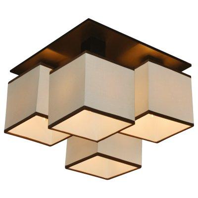 Люстра Arte lamp A4402PL-4BK QuadroПотолочные<br>Компания «Светодом» предлагает широкий ассортимент люстр от известных производителей. Представленные в нашем каталоге товары выполнены из современных материалов и обладают отличным качеством. Благодаря широкому ассортименту Вы сможете найти у нас люстру под любой интерьер. Мы предлагаем как классические варианты, так и современные модели, отличающиеся лаконичностью и простотой форм.  Стильная люстра Arte lamp A4402PL-4BK станет украшением любого дома. Эта модель от известного производителя не оставит равнодушным ценителей красивых и оригинальных предметов интерьера. Люстра Arte lamp A4402PL-4BK обеспечит равномерное распределение света по всей комнате. При выборе обратите внимание на характеристики, позволяющие приобрести наиболее подходящую модель. Купить понравившуюся люстру по доступной цене Вы можете в интернет-магазине «Светодом».<br><br>Установка на натяжной потолок: Да<br>S освещ. до, м2: 11<br>Крепление: Планка<br>Тип лампы: накаливания / энергосбережения / LED-светодиодная<br>Тип цоколя: E14<br>Количество ламп: 4<br>Ширина, мм: 350<br>MAX мощность ламп, Вт: 40<br>Диаметр, мм мм: 350<br>Высота, мм: 260