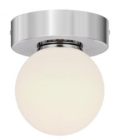 Светильник настенный бра Arte lamp A4445AP-1CC AQUAКруглые<br>Настенно-потолочные светильники – это универсальные осветительные варианты, которые подходят для вертикального и горизонтального монтажа. В интернет-магазине «Светодом» Вы можете приобрести подобные модели по выгодной стоимости. В нашем каталоге представлены как бюджетные варианты, так и эксклюзивные изделия от производителей, которые уже давно заслужили доверие дизайнеров и простых покупателей.  Настенно-потолочный светильник ARTELamp A4445AP-1CC станет прекрасным дополнением к основному освещению. Благодаря качественному исполнению и применению современных технологий при производстве эта модель будет радовать Вас своим привлекательным внешним видом долгое время. Приобрести настенно-потолочный светильник ARTELamp A4445AP-1CC можно, находясь в любой точке России.<br><br>S освещ. до, м2: 2<br>Тип лампы: галогенная/LED<br>Тип цоколя: G9<br>Цвет арматуры: серебристый<br>Количество ламп: 1<br>Размеры: H15xW15xL15<br>MAX мощность ламп, Вт: 33
