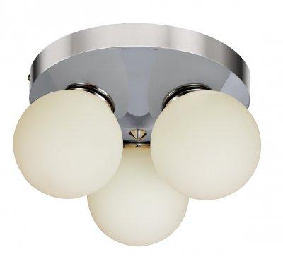 Светильник потолочный Arte lamp A4445PL-3CC AQUAПотолочные<br><br><br>Установка на натяжной потолок: Ограничено<br>S освещ. до, м2: 5<br>Крепление: Планка<br>Тип лампы: галогенная/LED<br>Тип цоколя: G9<br>Цвет арматуры: серебристый<br>Количество ламп: 3<br>Диаметр, мм мм: 250<br>Размеры: H16xW25xL25<br>Высота, мм: 160<br>MAX мощность ламп, Вт: 33