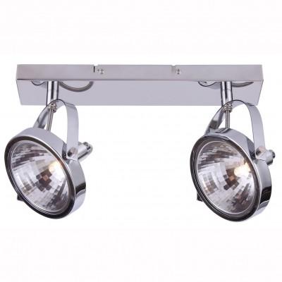 Светильник потолочный Arte lamp A4506PL-2CC ALIENOДвойные<br>Светильники-споты – это оригинальные изделия с современным дизайном. Они позволяют не ограничивать свою фантазию при выборе освещения для интерьера. Такие модели обеспечивают достаточно качественный свет. Благодаря компактным размерам Вы можете использовать несколько спотов для одного помещения.  Интернет-магазин «Светодом» предлагает необычный светильник-спот ARTE Lamp A4506PL-2CC по привлекательной цене. Эта модель станет отличным дополнением к люстре, выполненной в том же стиле. Перед оформлением заказа изучите характеристики изделия.  Купить светильник-спот ARTE Lamp A4506PL-2CC в нашем онлайн-магазине Вы можете либо с помощью формы на сайте, либо по указанным выше телефонам. Обратите внимание, что у нас склады не только в Москве и Екатеринбурге, но и других городах России.<br><br>Тип цоколя: G9<br>Количество ламп: 2<br>MAX мощность ламп, Вт: 33<br>Размеры: H16xW12xL37<br>Цвет арматуры: серебристый