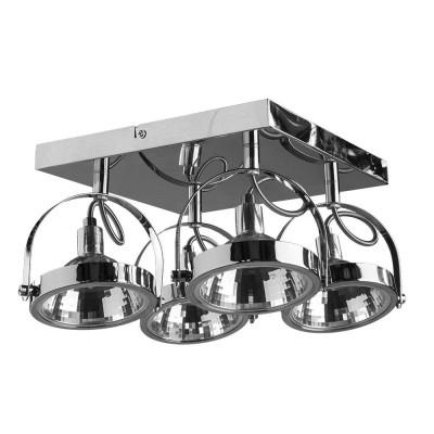 Светильник потолочный Arte lamp A4506PL-4CC ALIENOС 4 лампами<br>Светильники-споты – это оригинальные изделия с современным дизайном. Они позволяют не ограничивать свою фантазию при выборе освещения для интерьера. Такие модели обеспечивают достаточно качественный свет. Благодаря компактным размерам Вы можете использовать несколько спотов для одного помещения. <br>Интернет-магазин «Светодом» предлагает необычный светильник-спот ARTE Lamp A4506PL-4CC по привлекательной цене. Эта модель станет отличным дополнением к люстре, выполненной в том же стиле. Перед оформлением заказа изучите характеристики изделия. <br>Купить светильник-спот ARTE Lamp A4506PL-4CC в нашем онлайн-магазине Вы можете либо с помощью формы на сайте, либо по указанным выше телефонам. Обратите внимание, что у нас склады не только в Москве и Екатеринбурге, но и других городах России.<br><br>S освещ. до, м2: 7<br>Тип цоколя: G9<br>Цвет арматуры: серебристый<br>Количество ламп: 4<br>Размеры: H16xW12xL31<br>MAX мощность ламп, Вт: 33