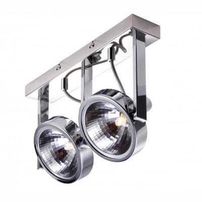 Светильник потолочный Arte lamp A4507PL-2CC FACCIAДвойные<br>Светильники-споты – это оригинальные изделия с современным дизайном. Они позволяют не ограничивать свою фантазию при выборе освещения для интерьера. Такие модели обеспечивают достаточно качественный свет. Благодаря компактным размерам Вы можете использовать несколько спотов для одного помещения.  Интернет-магазин «Светодом» предлагает необычный светильник-спот ARTE Lamp A4507PL-2CC по привлекательной цене. Эта модель станет отличным дополнением к люстре, выполненной в том же стиле. Перед оформлением заказа изучите характеристики изделия.  Купить светильник-спот ARTE Lamp A4507PL-2CC в нашем онлайн-магазине Вы можете либо с помощью формы на сайте, либо по указанным выше телефонам. Обратите внимание, что у нас склады не только в Москве и Екатеринбурге, но и других городах России.<br><br>Тип цоколя: G9<br>Количество ламп: 2<br>MAX мощность ламп, Вт: 33<br>Размеры: H18xW12xL32<br>Цвет арматуры: серебристый