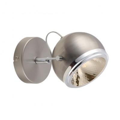 Светильник настенный бра Arte lamp A4509AP-1SS ORBITERОдиночные<br>Светильники-споты – это оригинальные изделия с современным дизайном. Они позволяют не ограничивать свою фантазию при выборе освещения для интерьера. Такие модели обеспечивают достаточно качественный свет. Благодаря компактным размерам Вы можете использовать несколько спотов для одного помещения.  Интернет-магазин «Светодом» предлагает необычный светильник-спот ARTE Lamp A4509AP-1SS по привлекательной цене. Эта модель станет отличным дополнением к люстре, выполненной в том же стиле. Перед оформлением заказа изучите характеристики изделия.  Купить светильник-спот ARTE Lamp A4509AP-1SS в нашем онлайн-магазине Вы можете либо с помощью формы на сайте, либо по указанным выше телефонам. Обратите внимание, что у нас склады не только в Москве и Екатеринбурге, но и других городах России.<br><br>S освещ. до, м2: 2<br>Тип цоколя: G9<br>Цвет арматуры: серебристый<br>Количество ламп: 1<br>Размеры: H14xW22xL13<br>MAX мощность ламп, Вт: 33
