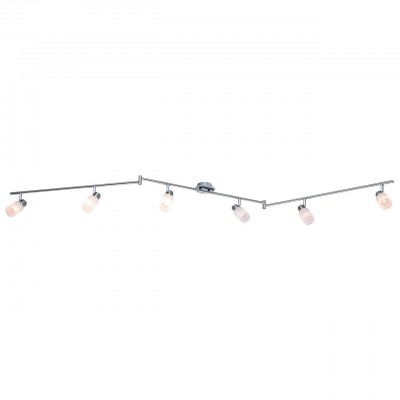 Светильник Arte lamp A4510PL-6SS CAVALLETTAБолее 5 ламп<br>Светильники-споты – это оригинальные изделия с современным дизайном. Они позволяют не ограничивать свою фантазию при выборе освещения для интерьера. Такие модели обеспечивают достаточно качественный свет. Благодаря компактным размерам Вы можете использовать несколько спотов для одного помещения.  Интернет-магазин «Светодом» предлагает необычный светильник-спот ARTE Lamp A4510PL-6SS по привлекательной цене. Эта модель станет отличным дополнением к люстре, выполненной в том же стиле. Перед оформлением заказа изучите характеристики изделия.  Купить светильник-спот ARTE Lamp A4510PL-6SS в нашем онлайн-магазине Вы можете либо с помощью формы на сайте, либо по указанным выше телефонам. Обратите внимание, что у нас склады не только в Москве и Екатеринбурге, но и других городах России.<br><br>Тип цоколя: 40W<br>Количество ламп: 6<br>MAX мощность ламп, Вт: E14<br>Размеры: H18xW11xL210<br>Цвет арматуры: серебристый