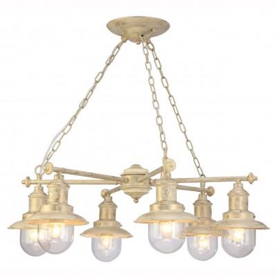 Светильник Arte lamp A4524LM-6WG SailorПодвесные<br>Компания «Светодом» предлагает широкий ассортимент люстр от известных производителей. Представленные в нашем каталоге товары выполнены из современных материалов и обладают отличным качеством. Благодаря широкому ассортименту Вы сможете найти у нас люстру под любой интерьер. Мы предлагаем как классические варианты, так и современные модели, отличающиеся лаконичностью и простотой форм. <br>Стильная люстра Arte lamp A4524LM-6WG станет украшением любого дома. Эта модель от известного производителя не оставит равнодушным ценителей красивых и оригинальных предметов интерьера. Люстра Arte lamp A4524LM-6WG обеспечит равномерное распределение света по всей комнате. При выборе обратите внимание на характеристики, позволяющие приобрести наиболее подходящую модель. <br>Купить понравившуюся люстру по доступной цене Вы можете в интернет-магазине «Светодом».<br><br>Установка на натяжной потолок: Да<br>S освещ. до, м2: 18<br>Крепление: Планка<br>Тип лампы: накал-я - энергосбер-я<br>Тип цоколя: E27<br>Цвет арматуры: бежевый с золотистой патиной<br>Количество ламп: 6<br>Диаметр, мм мм: 720<br>Высота, мм: 250<br>MAX мощность ламп, Вт: 60