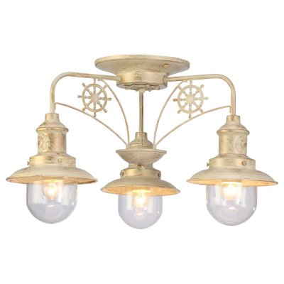 Люстра Arte lamp A4524PL-3WG SailorПотолочные<br>Компания «Светодом» предлагает широкий ассортимент люстр от известных производителей. Представленные в нашем каталоге товары выполнены из современных материалов и обладают отличным качеством. Благодаря широкому ассортименту Вы сможете найти у нас люстру под любой интерьер. Мы предлагаем как классические варианты, так и современные модели, отличающиеся лаконичностью и простотой форм. <br>Стильная люстра Arte lamp A4524PL-3WG станет украшением любого дома. Эта модель от известного производителя не оставит равнодушным ценителей красивых и оригинальных предметов интерьера. Люстра Arte lamp A4524PL-3WG обеспечит равномерное распределение света по всей комнате. При выборе обратите внимание на характеристики, позволяющие приобрести наиболее подходящую модель. <br>Купить понравившуюся люстру по доступной цене Вы можете в интернет-магазине «Светодом».<br><br>Установка на натяжной потолок: Да<br>S освещ. до, м2: 9<br>Крепление: Планка<br>Тип лампы: накал-я - энергосбер-я<br>Тип цоколя: E27<br>Количество ламп: 3<br>MAX мощность ламп, Вт: 60<br>Диаметр, мм мм: 600<br>Высота, мм: 340<br>Цвет арматуры: бежевый с золотистой патиной