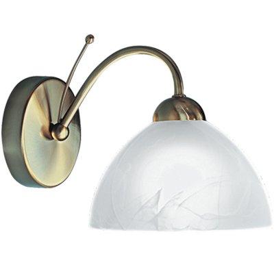 Светильник бра Arte Lamp A4530AP-1AB MilaneseКлассические<br><br><br>S освещ. до, м2: 4<br>Тип лампы: накаливания / энергосбережения / LED-светодиодная<br>Тип цоколя: E14<br>Цвет арматуры: бронзовый<br>Количество ламп: 1<br>Ширина, мм: 170<br>Диаметр, мм мм: 250<br>Высота, мм: 190<br>MAX мощность ламп, Вт: 60