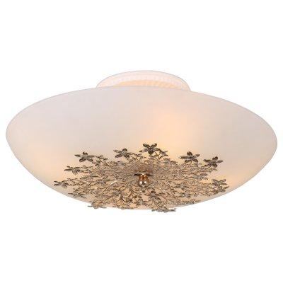 Светильник Arte lamp A4548PL-4GO ProvenceПотолочные<br>Компания «Светодом» предлагает широкий ассортимент люстр от известных производителей. Представленные в нашем каталоге товары выполнены из современных материалов и обладают отличным качеством. Благодаря широкому ассортименту Вы сможете найти у нас люстру под любой интерьер. Мы предлагаем как классические варианты, так и современные модели, отличающиеся лаконичностью и простотой форм. <br>Стильная люстра Arte lamp A4548PL-4GO станет украшением любого дома. Эта модель от известного производителя не оставит равнодушным ценителей красивых и оригинальных предметов интерьера. Люстра Arte lamp A4548PL-4GO обеспечит равномерное распределение света по всей комнате. При выборе обратите внимание на характеристики, позволяющие приобрести наиболее подходящую модель. <br>Купить понравившуюся люстру по доступной цене Вы можете в интернет-магазине «Светодом».<br><br>Установка на натяжной потолок: Ограничено<br>S освещ. до, м2: 12<br>Крепление: Планка<br>Тип лампы: Накаливания / энергосбережения / светодиодная<br>Тип цоколя: E27<br>Цвет арматуры: золотой<br>Количество ламп: 4<br>Диаметр, мм мм: 400<br>Высота, мм: 170<br>MAX мощность ламп, Вт: 60