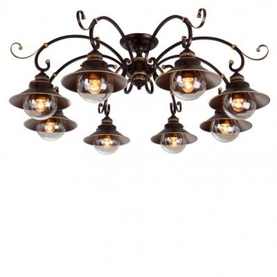Купить со скидкой Люстра потолочная Arte lamp A4577PL-8CK GRAZIOSO