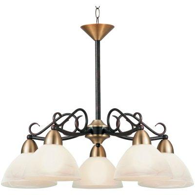 Люстра Arte Lamp A4711LM-5BR BlakeПодвесные<br>Компания «Светодом» предлагает широкий ассортимент люстр от известных производителей. Представленные в нашем каталоге товары выполнены из современных материалов и обладают отличным качеством. Благодаря широкому ассортименту Вы сможете найти у нас люстру под любой интерьер. Мы предлагаем как классические варианты, так и современные модели, отличающиеся лаконичностью и простотой форм. <br>Стильная люстра Arte lamp A4711LM-5BR станет украшением любого дома. Эта модель от известного производителя не оставит равнодушным ценителей красивых и оригинальных предметов интерьера. Люстра Arte lamp A4711LM-5BR обеспечит равномерное распределение света по всей комнате. При выборе обратите внимание на характеристики, позволяющие приобрести наиболее подходящую модель. <br>Купить понравившуюся люстру по доступной цене Вы можете в интернет-магазине «Светодом».<br><br>Установка на натяжной потолок: Да<br>S освещ. до, м2: 20<br>Крепление: Крюк<br>Тип лампы: накаливания / энергосбережения / LED-светодиодная<br>Тип цоколя: E27<br>Количество ламп: 5<br>Ширина, мм: 590<br>MAX мощность ламп, Вт: 60<br>Диаметр, мм мм: 590<br>Длина цепи/провода, мм: 560<br>Высота, мм: 480<br>Цвет арматуры: коричневый