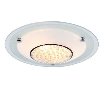 Светильник Arte lamp A4833PL-2CC GISELLEКруглые<br>Настенно-потолочные светильники – это универсальные осветительные варианты, которые подходят для вертикального и горизонтального монтажа. В интернет-магазине «Светодом» Вы можете приобрести подобные модели по выгодной стоимости. В нашем каталоге представлены как бюджетные варианты, так и эксклюзивные изделия от производителей, которые уже давно заслужили доверие дизайнеров и простых покупателей.  Настенно-потолочный светильник ARTELamp A4833PL-2CC станет прекрасным дополнением к основному освещению. Благодаря качественному исполнению и применению современных технологий при производстве эта модель будет радовать Вас своим привлекательным внешним видом долгое время. Приобрести настенно-потолочный светильник ARTELamp A4833PL-2CC можно, находясь в любой точке России.<br><br>S освещ. до, м2: 6<br>Тип цоколя: E27<br>Цвет арматуры: серебристый<br>Количество ламп: 2<br>Размеры: H9xW32xL32<br>MAX мощность ламп, Вт: 60W