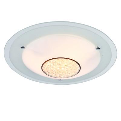 Светильник Arte lamp A4833PL-3CC GISELLEКруглые<br>Настенно-потолочные светильники – это универсальные осветительные варианты, которые подходят для вертикального и горизонтального монтажа. В интернет-магазине «Светодом» Вы можете приобрести подобные модели по выгодной стоимости. В нашем каталоге представлены как бюджетные варианты, так и эксклюзивные изделия от производителей, которые уже давно заслужили доверие дизайнеров и простых покупателей.  Настенно-потолочный светильник ARTELamp A4833PL-3CC станет прекрасным дополнением к основному освещению. Благодаря качественному исполнению и применению современных технологий при производстве эта модель будет радовать Вас своим привлекательным внешним видом долгое время. Приобрести настенно-потолочный светильник ARTELamp A4833PL-3CC можно, находясь в любой точке России.<br><br>S освещ. до, м2: 9<br>Тип цоколя: E27<br>Количество ламп: 3<br>MAX мощность ламп, Вт: 60W<br>Размеры: H9xW42xL42<br>Цвет арматуры: серебристый